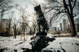 balto statue, central park
