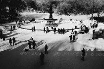 bethesda fountain, central park